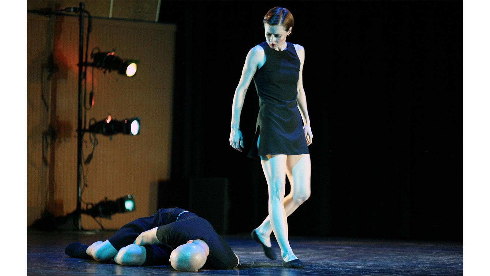 Vertical Migration Lemon Sponge Cake Contemporary Ballet