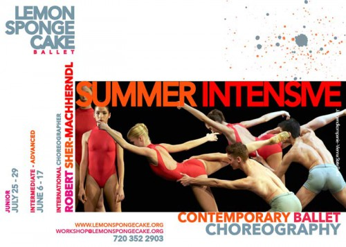 Contemporary Ballet Summer Intensive 2016 - Advanced and Junior