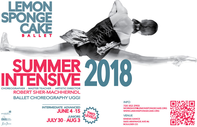 Lemon Sponge Cake Summer Intensive 2018