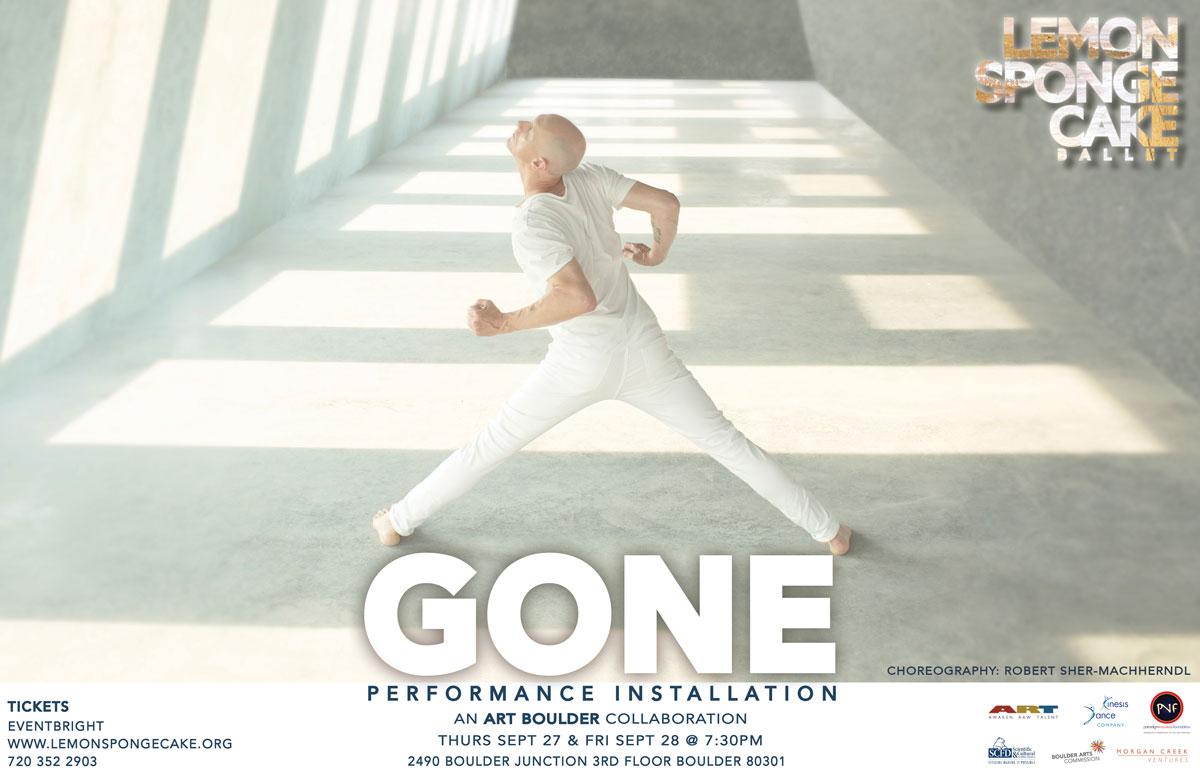 Gone Lemon Sponge Cake Contemporary Ballet