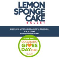 Lemon Sponge Cake Colorado Gives